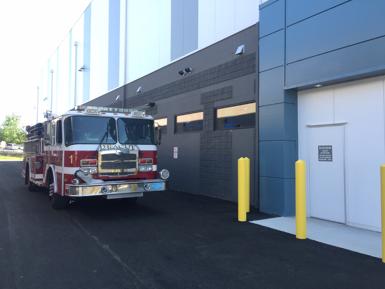 Dracut Fire Department visits Lazy River Products
